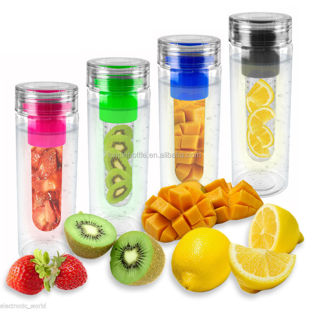 Wholesale new 28oz infuser water bottle fruit infusion for Botellas tupperware amazon