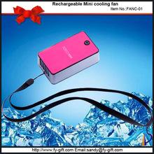 2015 new products mini anniversary gift summer flashing 5 watt fan