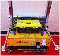 Plastering machine/gypsum mix/plaster spraying equipment