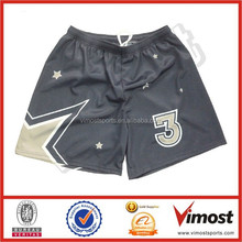 custom design basketball shorts/star design basketball shorts