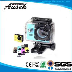 720p hd waterproof sport cam helmet action camcorder camera with MSDS,UN38.3