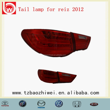 Taizhou Baozhiwei!LED PMMA tail lamp/tail light for Reiz 2012