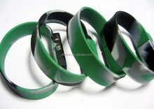 Silicone USB 2.0 Camouflage Bracelet USB Flash Drive