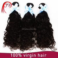 100% remy virgin human European natural wave hair tangling free shedding free top 7a angel hair products