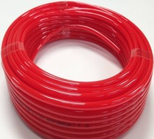 with 10 years experience cmpetitive price flexible 3/8' inches red PU air tube for various industry