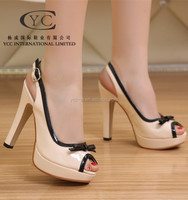 Heel Shoe for 2015 Summer Lady Faction Shoe Sexy Casual Shoe Wholesale Products BEIGE