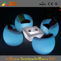 colorful round Cafe Table for 4 person