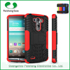 Hybrid Hyun pattern TPU PC 2 in 1 with kickstand case for lg g3 stylus cover