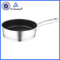 bonded bottom, 304 stainless steel as seen on tv ceramic fry pan