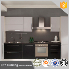 European standard easy fitted customized affordable modern kitchen cabinets
