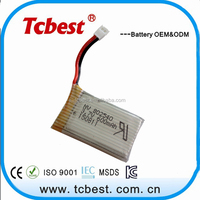 shenzhen 3.7v 600mah lithium 802540 polymer li-ion battery for rc helicopter