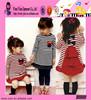 Fashion Hot Sale Polka Dot Pattern Dress Custom One Piece New Casual Baby Dress Designs 2014