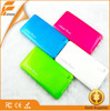 ultra-thin polymer portable mobile power bank 5000mah OEM service portable charger