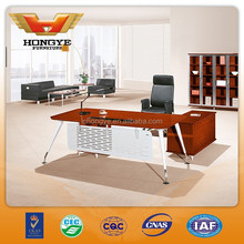 Modern office executive desk with metal legs HY-D9220