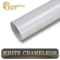 Top Selling White To Blue Glossy Pearl White Chameleon Car Roof PVC Sticker
