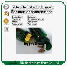 RD Health Ingredients supply super powerful sex capsule power man capsule 300or 500mg