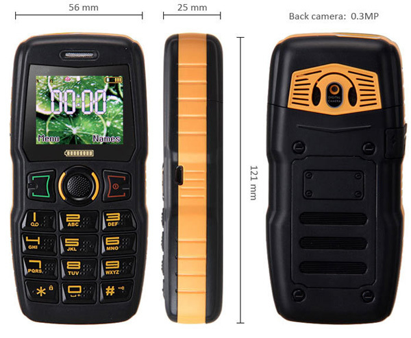 water proof shock proof cell phone