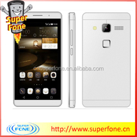 Mate 7 4.5 inch mobile smartphones 4 band with silicone case mobile phone support wifi gprs best android phone
