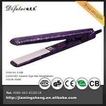 No Heat Hair Straighteners Water Transfer Print Hair Flat Iron Straightener