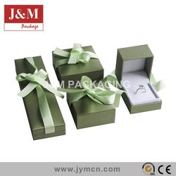 high quality gift box Custom logo printed jewelry box factory price