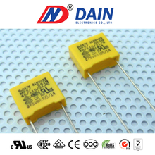 Fast delivery time Taiwan electronic parts metallized polypropylene film capacitor manufacturer