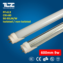 Energy saving 9W 0.6m led fluorescent tube for office/school 3 years warranty