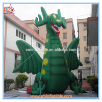 Factory price giant inflatable dinosaur,inflatable dragon cartoon,inflatable mascot for advertsing to sale