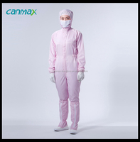 Canmax Brand China Southeast Asia Antistatic Garments Cleanroom Uniform