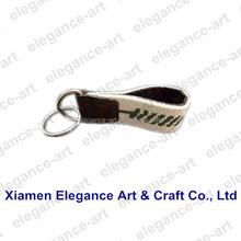 Custom Alligator needlepoint key chain