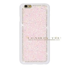 China Alibaba Shenzhen Factory Wholesalers Following From Rhinestone Cover Hard PC Full Diamond Case For iPhone 6