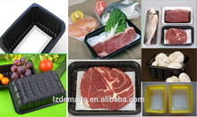 2015 Latest Products Vacuum Forming Meat&Food Industry Use Frozen Food Tray Packaging Popular in North America Market