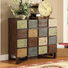 Multi drawers Wooden Home Decorated Console Chest With Soft Hinge
