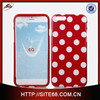 Hot New OEM Designer Cute Polkat Dot Pattern Mobile Phone Cover for Iphone 6, case for IPhone 6 Case