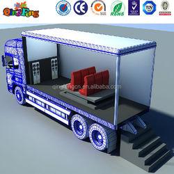 truck mobile mini 5d cinema with cabin 7d cinema XD cinema system for sale