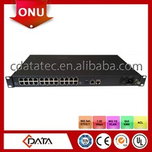 GEPON FTTB CPE with 24 fast Ethernet ports
