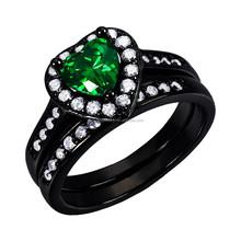 latest wedding ring designs 925 silver ring set mirco pave black gold engagement ring