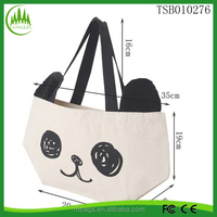 New product OEM foldable wholesale women cute designer shopping bag