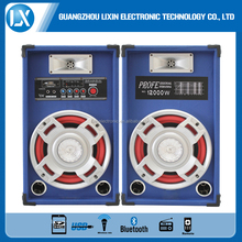 10 inch active speaker subwoofer with LED lighting and 500 Watt PA Bass Speaker With DJ Light