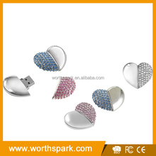 Wholesale high quality jewelry star shape usb flash drive