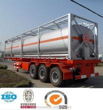 60cbm Semitractor Trailer 2 or 3 axles Tri Axle Oil Fuel Gasoline Tank Trailer For Sales 0086 15194178631