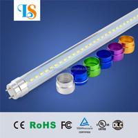 25pcs free feight High quality 4ft 18w LED tube T8 144pc led epistar DLC/FCC/UL t8 led red light tube 4ft Islolated built