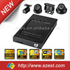 4CH Vehicle DVR 1080P for bus, taxi, police car, truck GPS WIFI 3G 4 Camera Systems