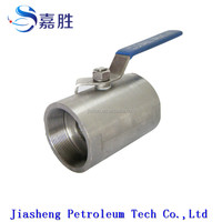 high quality 2-pc inside thread ball valve