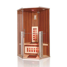 new simple design with 8 mm glass thickness sauna room for one person in family use
