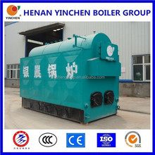 Bio steam boiler from henan of china with water and fire tube