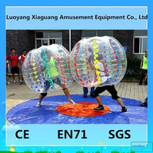Human size soccer cheap bumper ball inflatable ball