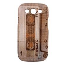 Split Type Black Walnut Wood Cover Case for Samsung Galaxy S3 i9300