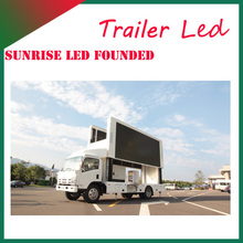 Sunirse .See larger image led mobile advertising vehicle for hot sale,lifting billboards truck, TV vehicle