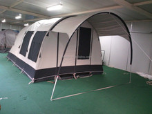 hot sale family polycotton camping tent with ISO9001