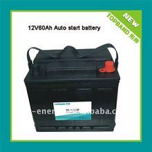 TB-1260F 12V 60Ah lifepo4 battery for cars+PCM